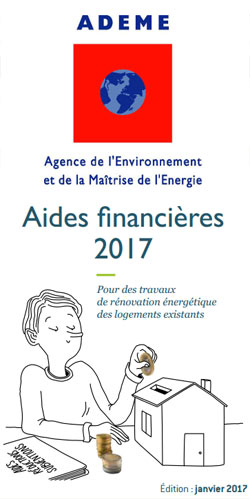 aides 2017 rénovation ADEME
