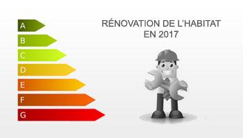 statistiques rénovation énergétique 2017