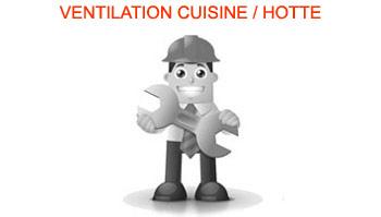 Ventilation cuisine, Hotte