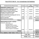 Exemples de devis travaux 3615 devis for Devis etude de sol