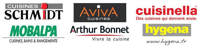 logos des cuisinistes