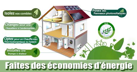 faites des économies énergétiques