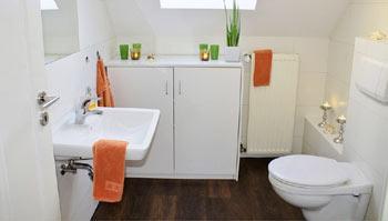 WC dans salle de bains