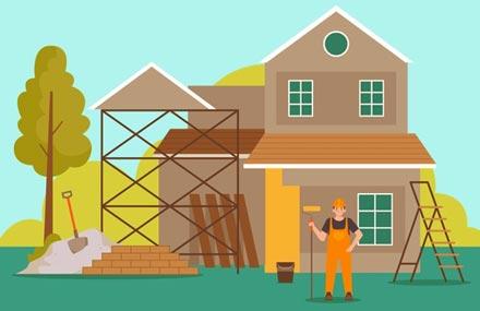 illustration agrandissement de maison