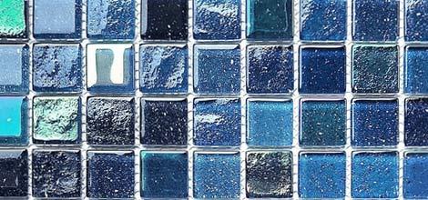 carreaux de verre en mosaïque