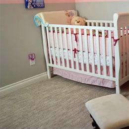 revêtement de sol pour une chambre d'enfant
