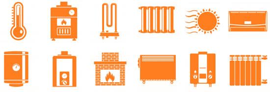 différents types de chauffage de maison