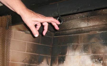 clapet de cheminée