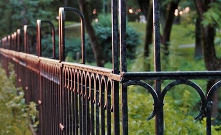 clôture pour sécuriser le jardin