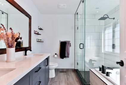 exemple de décoration de salle d'eau
