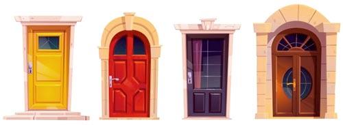 différentes portes d'entrée