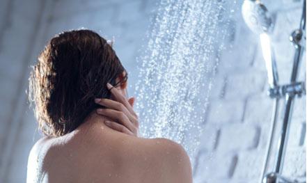 qualité de l'eau pour la douche