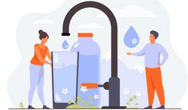 eau du robinet osmosée