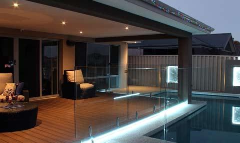 exemple d'éclairage de terrasse