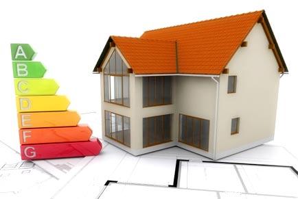 efficacité énergétique d'un maison