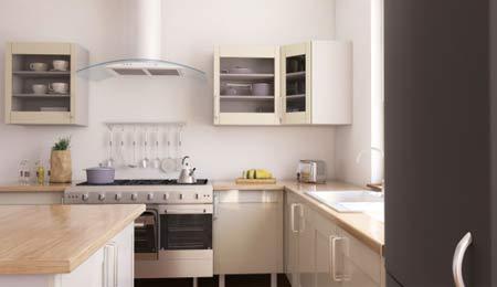 les différents équipements de cuisine