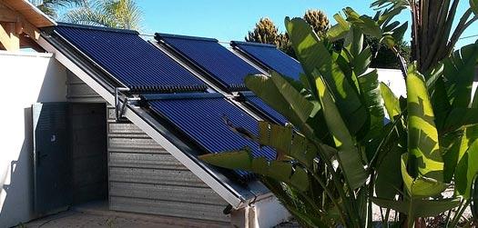 équipements solaires pour le chauffage  de l'eau sanitaire