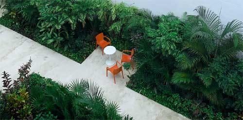 exemple de jardin aménagé par un paysagiste