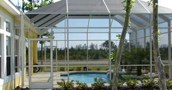 exemple abri de piscine