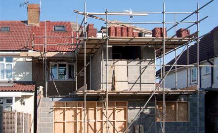 exemple d'agrandissement de maison