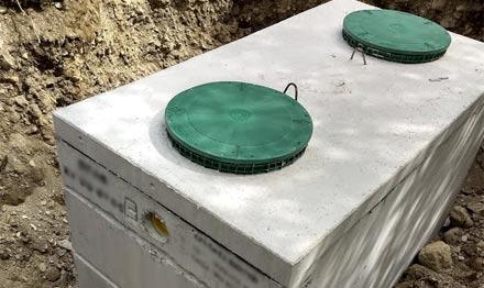 exemple de fosse septique