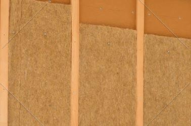 """exemple d""""isolation de maison en fibres de bois"""
