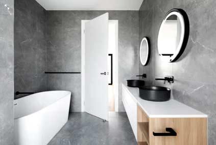 salle de bains mise en valeur par home stager