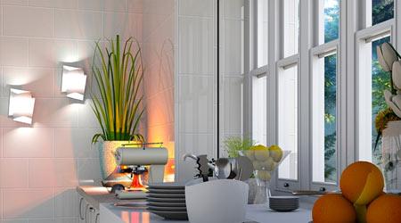 lampes de cuisine