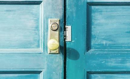 exemple de peinture de porte d'entrée