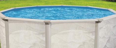 piscine surélevée