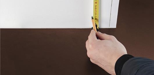 installation de plinthe chauffante