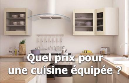 prix d'une cuisine équipée