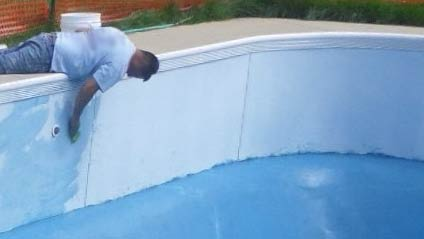 travaux de rénovation de piscine