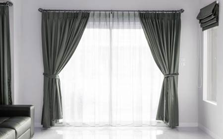 exemple de rideaux de fenêtre
