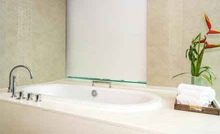 exemple de salle de bain sans fenêtre