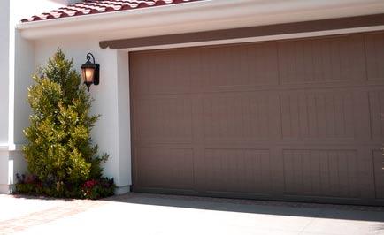 porte de garage pour la sécurité