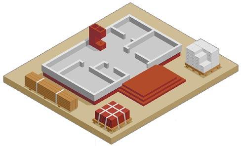 visuel de fondations de maison